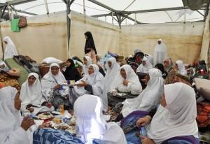 khemah muslimat di mina