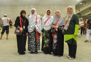 Sebahagian jemaah haji muslimah Batuta